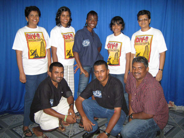 Top from Left Anita, Latisha, Jannelle, Melita and Ruth, Bottom from Left Raymond, Andrew and Ryan